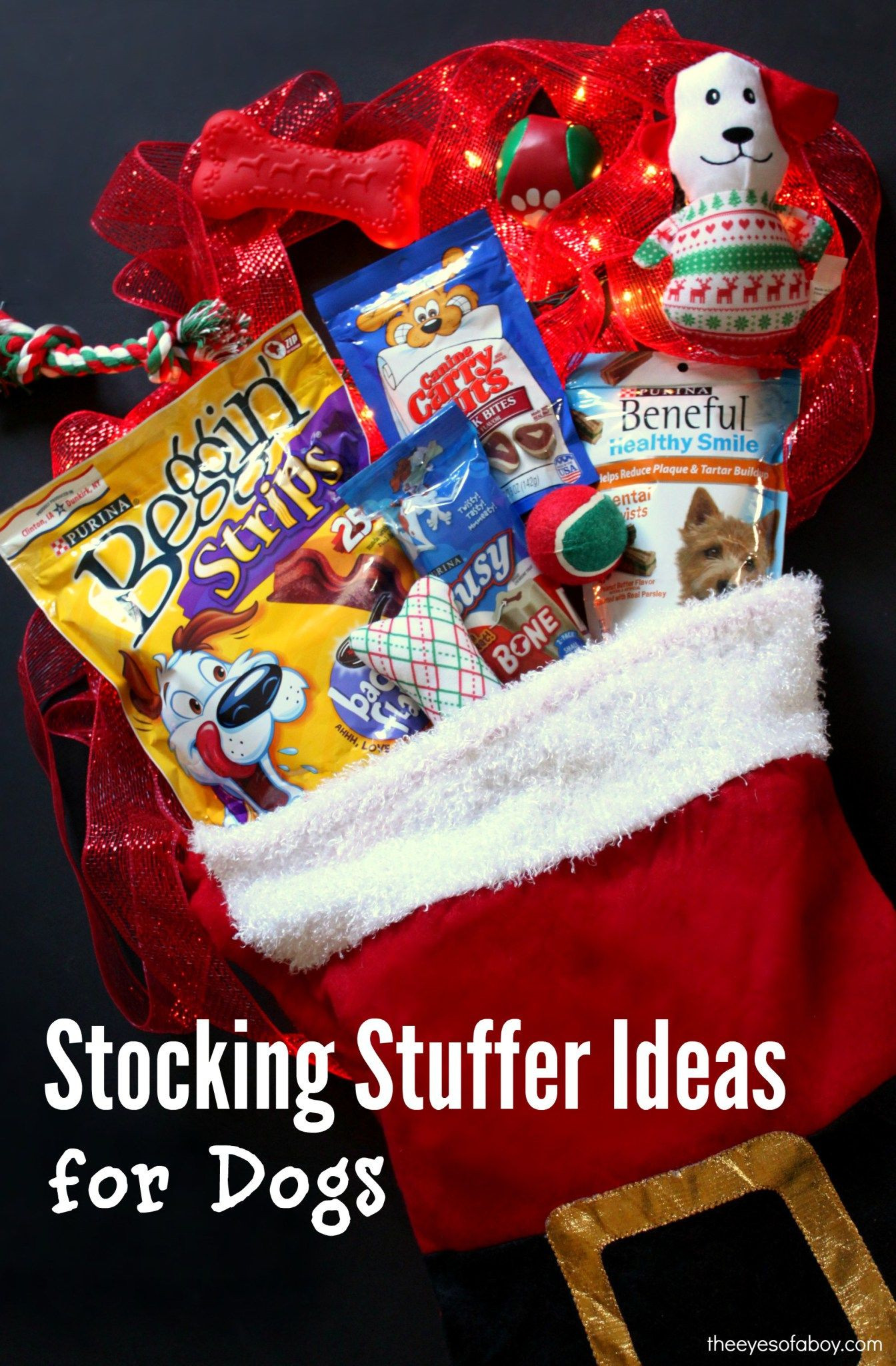 Best ideas about Dog Christmas Gift Ideas . Save or Pin Stocking Stuffer ideas for Christmas for Dogs ts Now.