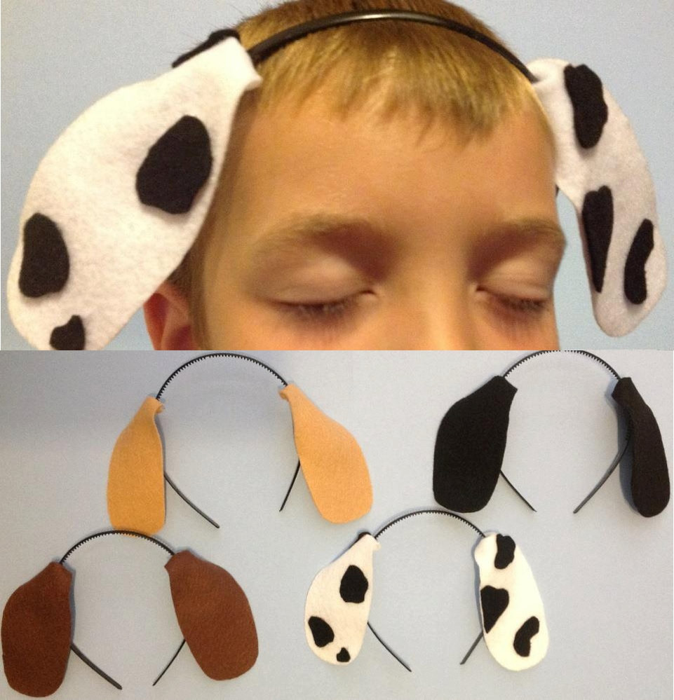 Best ideas about Dog Ears Headband DIY . Save or Pin Diy Dog Ear Headband Template to Pin on Pinterest Now.