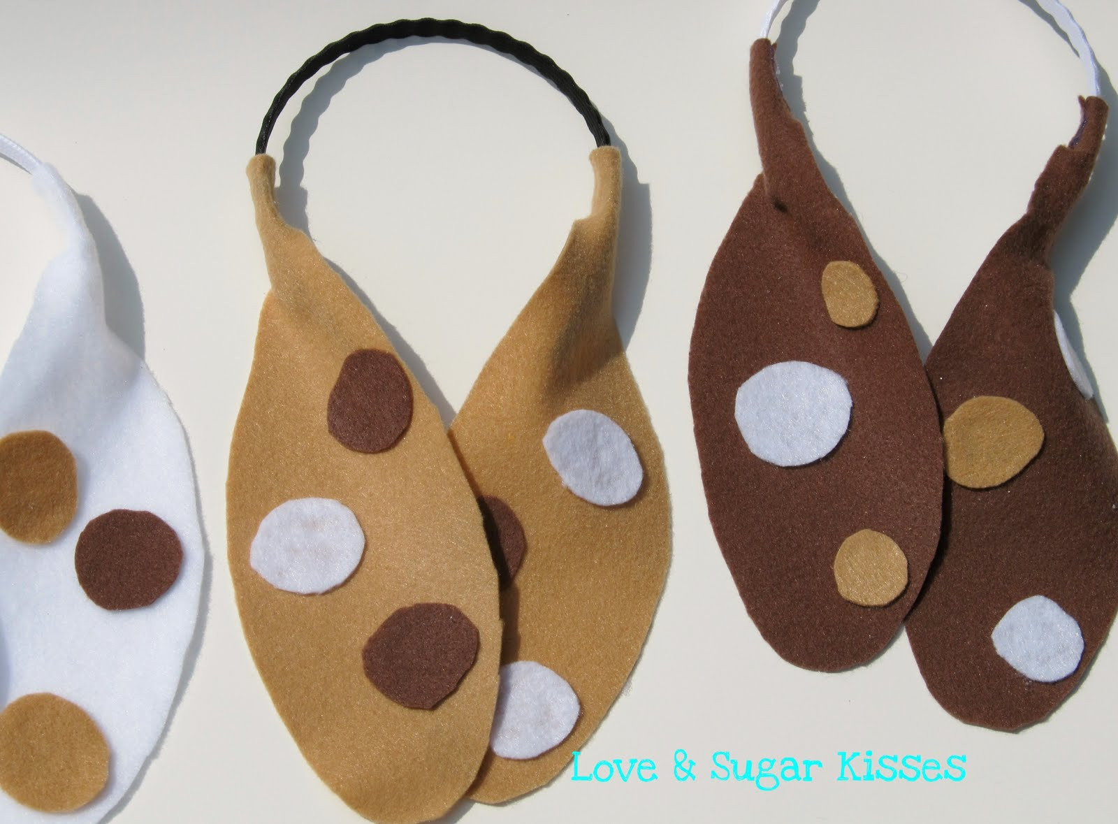 Best ideas about Dog Ears Headband DIY . Save or Pin Love & Sugar Kisses DIY Puppy Ears Now.