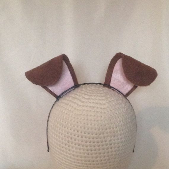 Best ideas about Dog Ears Headband DIY . Save or Pin 25 best ideas about Dog Ears Costume on Pinterest Now.