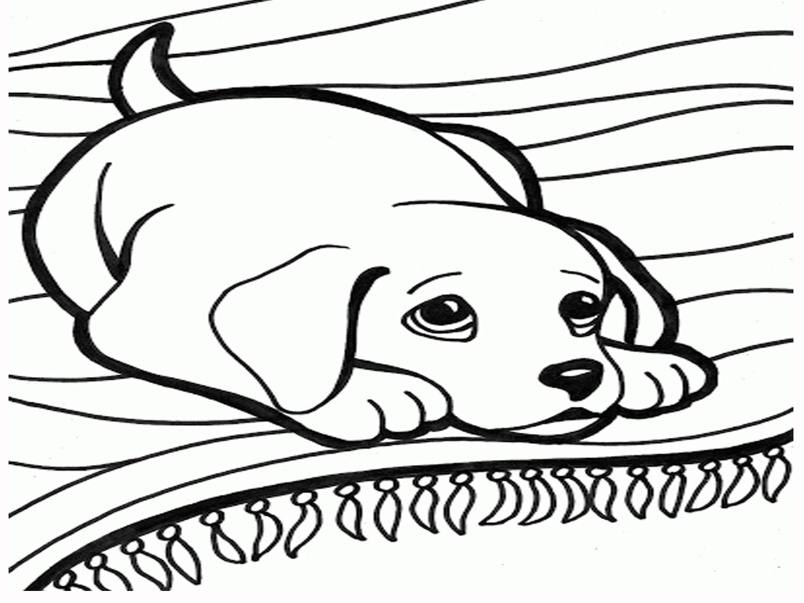 Best ideas about Dog Free Coloring Pages . Save or Pin Faithful animal Dog 20 Dog coloring pages Now.