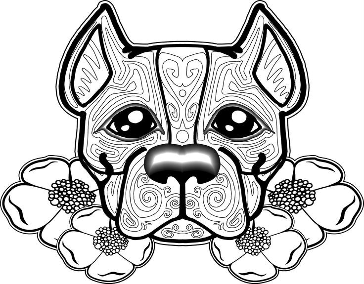 Best ideas about Dog Free Coloring Pages . Save or Pin free dog coloring pages for adults Now.