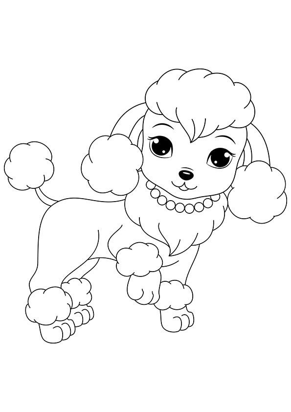 Best ideas about Dog Free Coloring Pages . Save or Pin Free Printable Dogs and Puppies Coloring Pages for Kids Now.