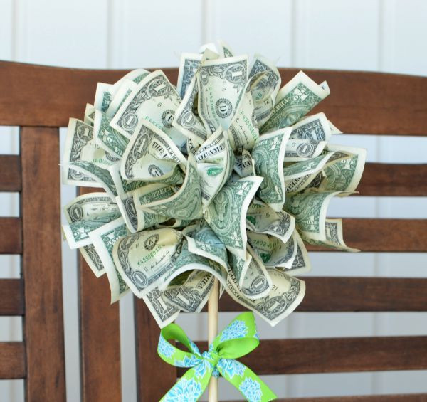 Best ideas about Dollar Bill Gift Ideas . Save or Pin 25 best ideas about Money trees on Pinterest Now.