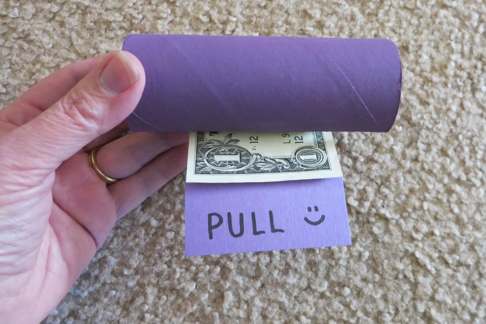 Best ideas about Dollar Bill Gift Ideas . Save or Pin Cindy deRosier My Creative Life Dollar Bill Dispenser Now.