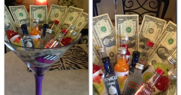 Best ideas about Dollar Bill Gift Ideas . Save or Pin 21st birthday present but i want $100 dollar bills in Now.