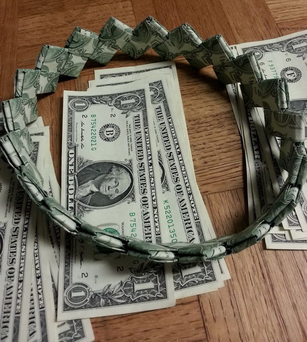 Best ideas about Dollar Bill Gift Ideas . Save or Pin 25 DIY Graduation Cash Gifts Hative Now.