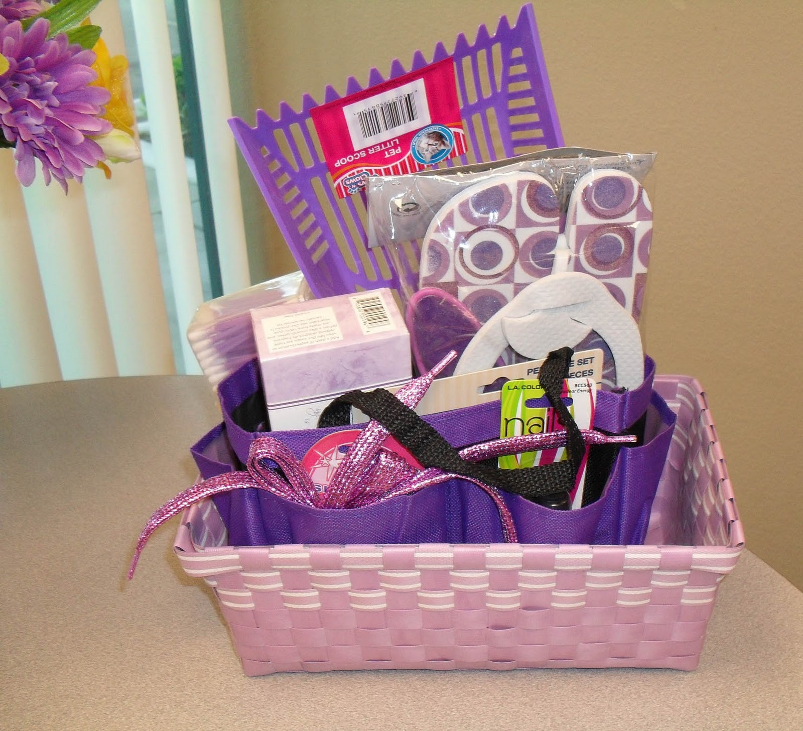 Best ideas about Dollar Store Gift Basket Ideas . Save or Pin thedollarstorediva Dollar Store Gift Baskets Always a Hit Now.