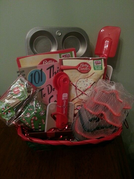 Best ideas about Dollar Store Gift Basket Ideas . Save or Pin Baking Gift Basket christmas t basket idea dollar Now.