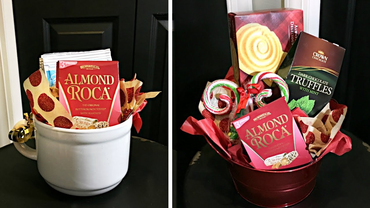 Best ideas about Dollar Store Gift Basket Ideas . Save or Pin Dollar Store Christmas Gift Baskets Now.