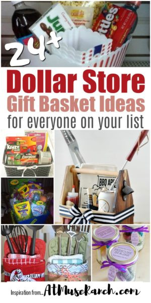 Best ideas about Dollar Store Gift Basket Ideas . Save or Pin Dollar Store Gift Baskets for Everyone on Your List Now.