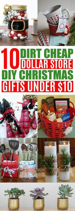 Best ideas about Dollar Store Gift Basket Ideas . Save or Pin My Dollar Store DIY Christmas Gift Ideas for Cheap Six Now.
