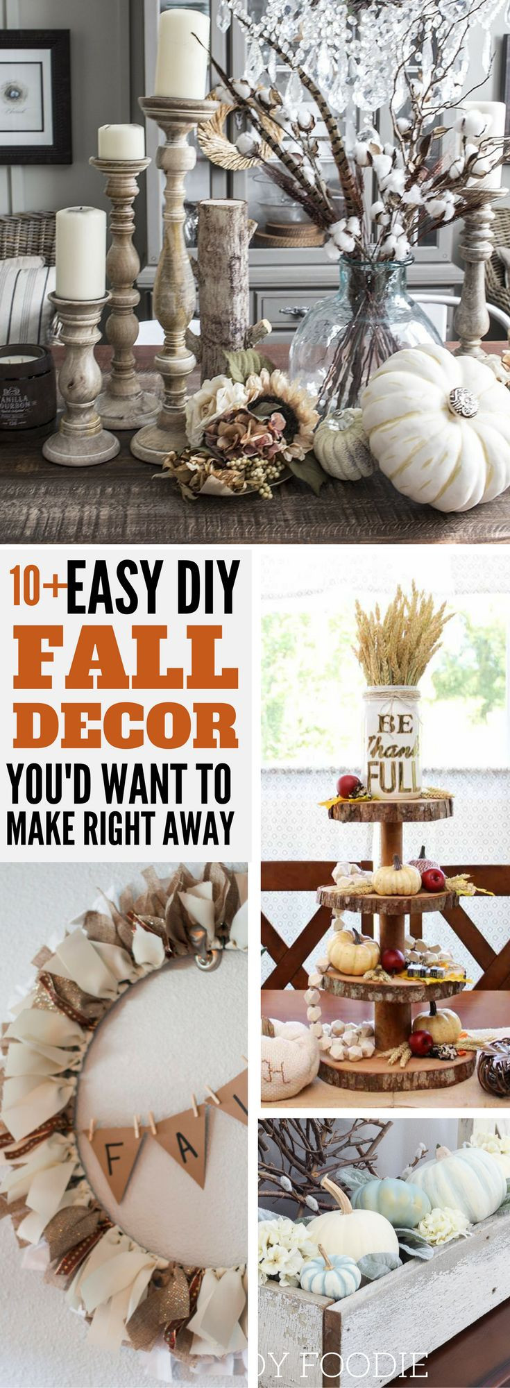 Best ideas about Dollar Tree DIY Decor . Save or Pin Best 25 Dollar tree fall decor autumn ideas on Pinterest Now.