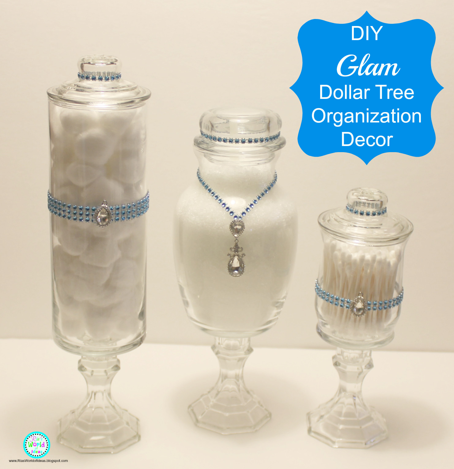 Best ideas about Dollar Tree DIY Decor . Save or Pin Ria s World of Ideas DIY Dollar Tree Make up Brush Organizers Now.