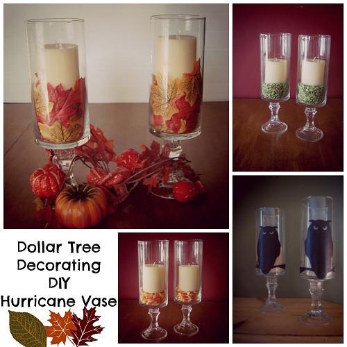 Best ideas about Dollar Tree DIY Decor . Save or Pin Hurricane Vase DIY BargainBriana Now.