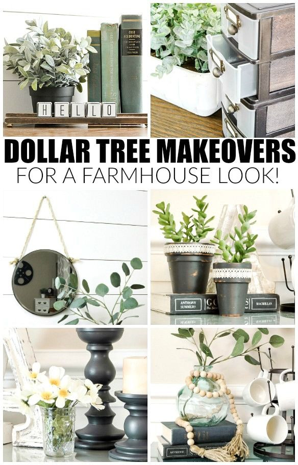 Best ideas about Dollar Tree DIY Decor . Save or Pin How to Get the Farmhouse Look with Dollar Tree Items Now.