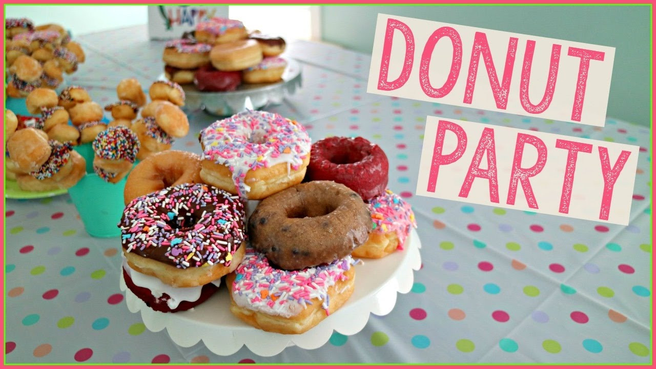 Best ideas about Donut Birthday Party . Save or Pin DONUT PARTY Now.