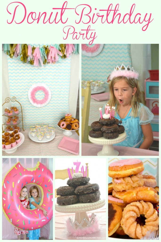 Best ideas about Donut Birthday Party . Save or Pin Donut Birthday Party Now.