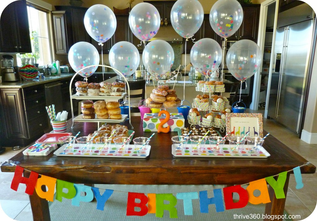 Best ideas about Donut Birthday Party . Save or Pin Donut Birthday Party Project Nursery Now.