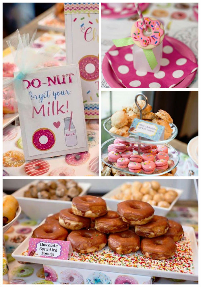 Best ideas about Donut Birthday Party . Save or Pin Kara s Party Ideas Donut Themed Birthday Party Now.