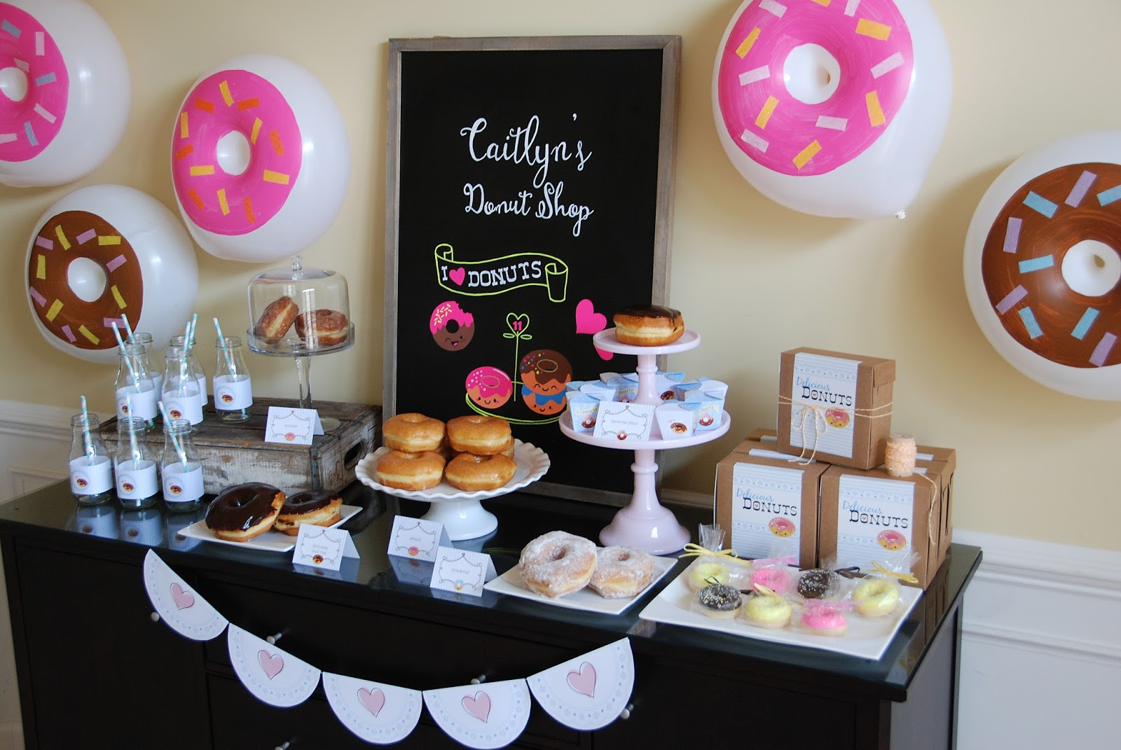 Best ideas about Donut Birthday Party . Save or Pin Pure Joy Events Donut Birthday Party Now.