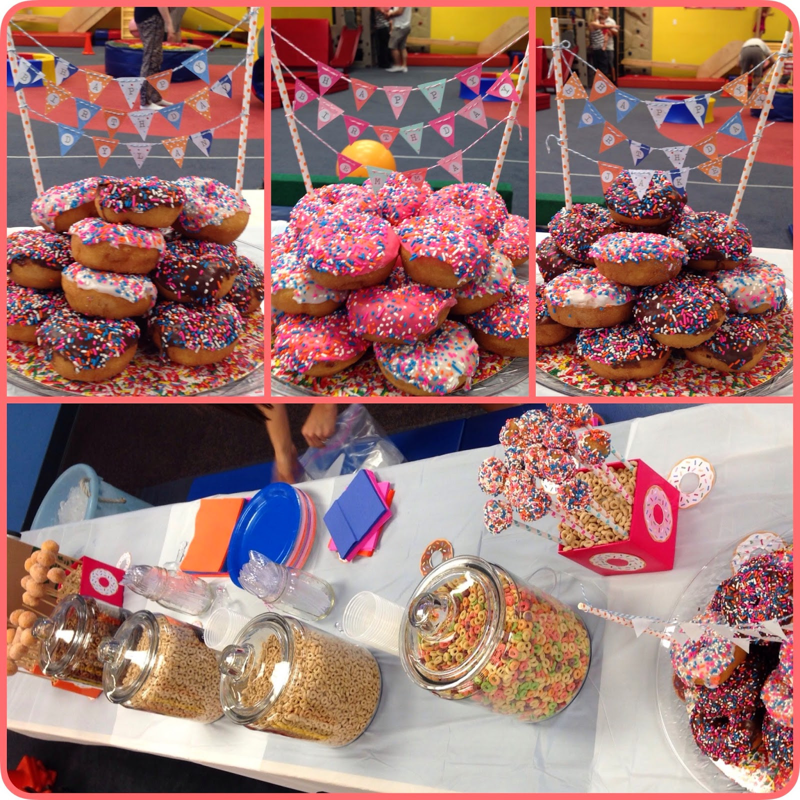 Best ideas about Donut Birthday Party . Save or Pin Party of 5 Donut birthday party Now.