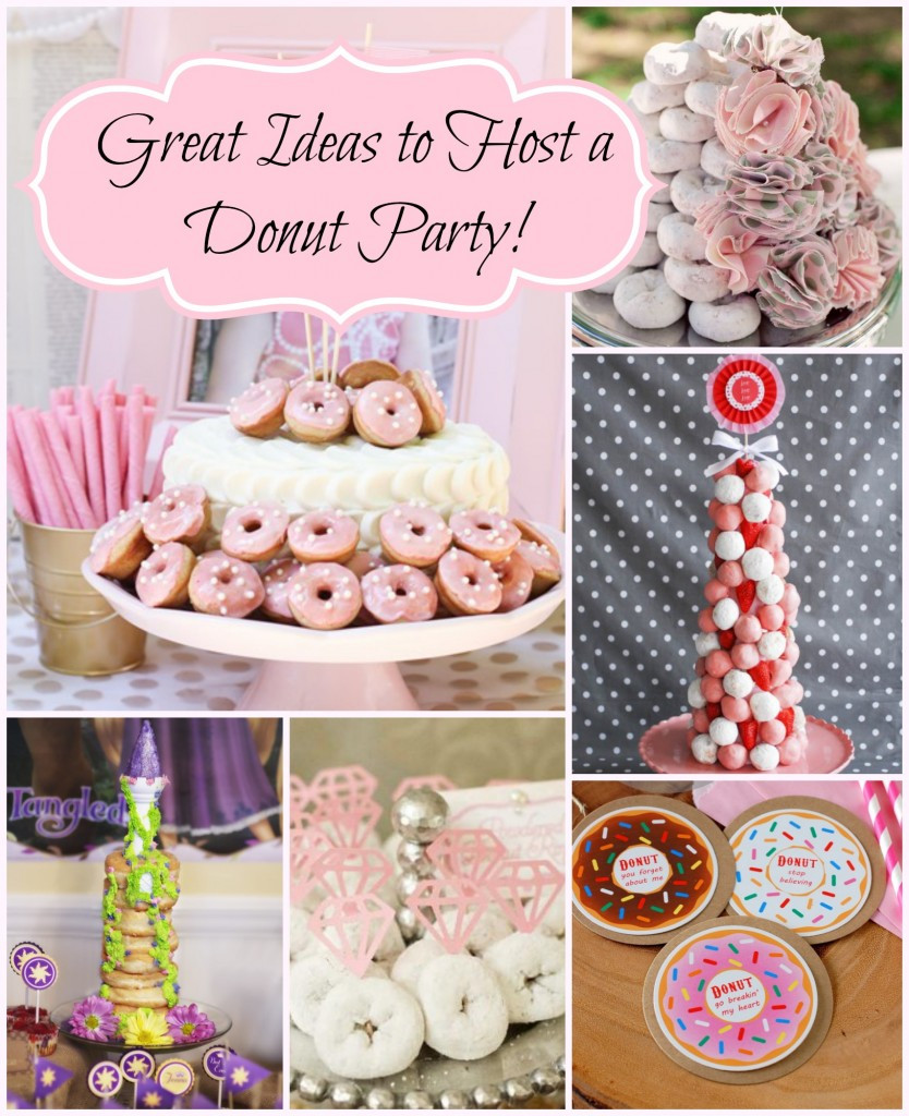 Best ideas about Donut Birthday Party . Save or Pin Donut Birthday Party – Style with Nancy Now.