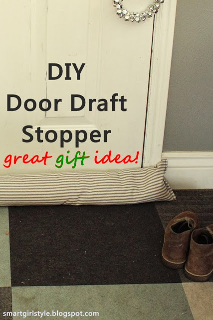 Best ideas about Door Draft Stopper DIY . Save or Pin Someday Crafts Door Draft Stopper Now.