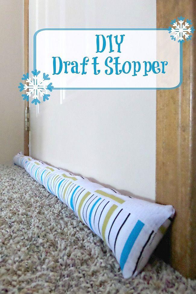 Best ideas about Door Draft Stopper DIY . Save or Pin 1000 images about Draft Stoppers on Pinterest Now.