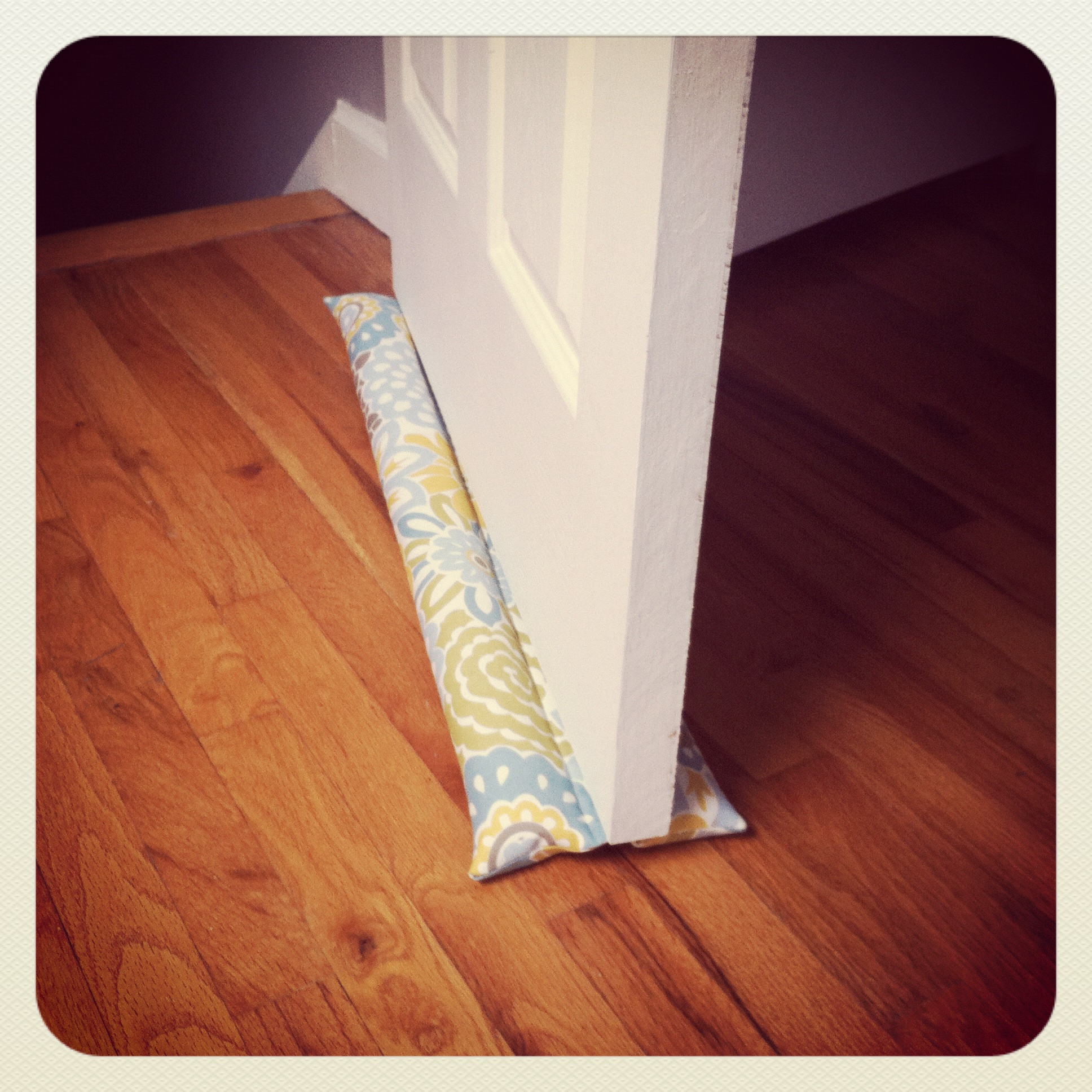 Best ideas about Door Draft Stopper DIY . Save or Pin DIY Draft Stopper Now.
