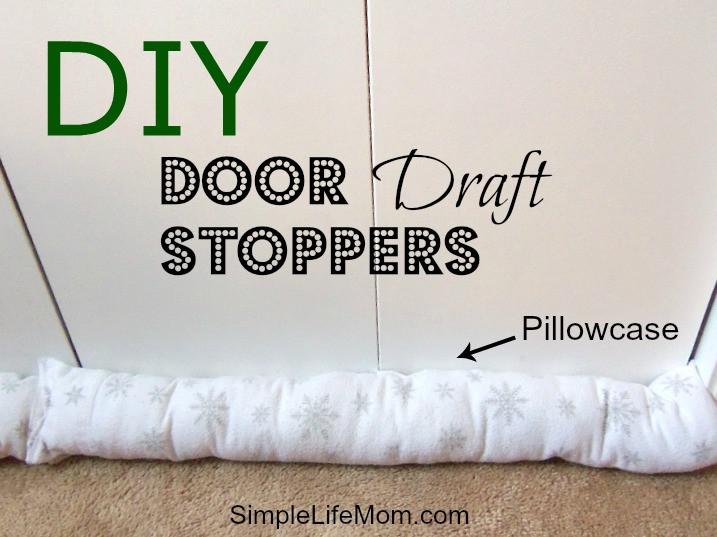 Best ideas about Door Draft Stopper DIY . Save or Pin DIY Door Draft Stopper Simple Life Mom Now.