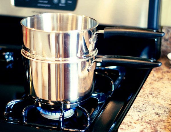 Best ideas about Double Boiler DIY . Save or Pin How to Make A Double Boiler – How to Set Up a Bain Marie Now.