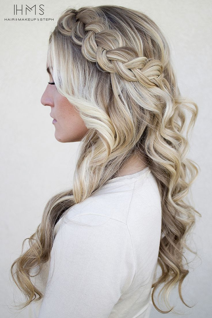 Best ideas about Down Prom Hairstyles . Save or Pin 59 Prom Hairstyles To Look The Belle The Ball Now.
