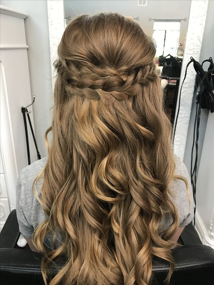 Best ideas about Down Prom Hairstyles . Save or Pin Best 25 Braided half up ideas on Pinterest Now.