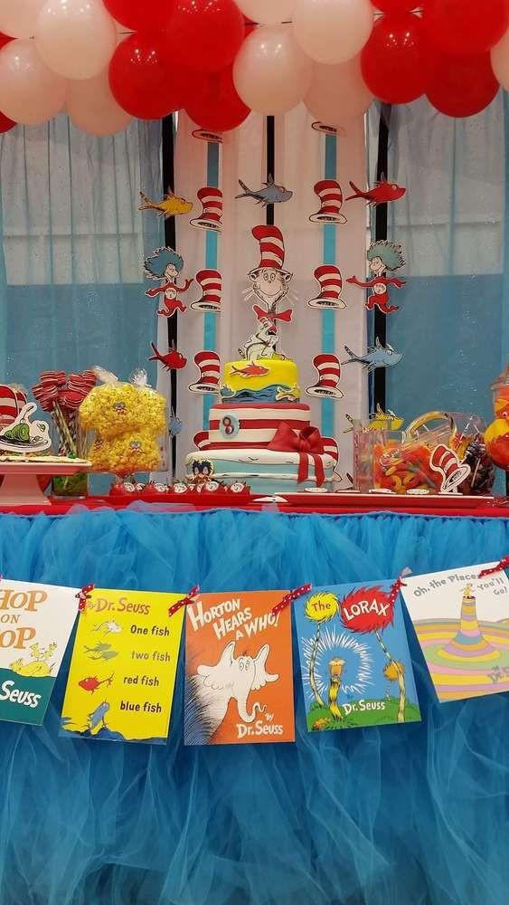 Best ideas about Dr.seuss Birthday Decorations . Save or Pin Best 25 Dr seuss birthday party ideas on Pinterest Now.