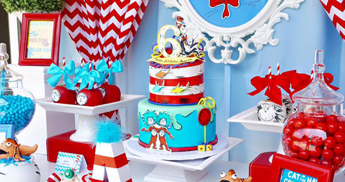 Best ideas about Dr.seuss Birthday Decorations . Save or Pin Kara s Party Ideas Dr Suess Archives Now.