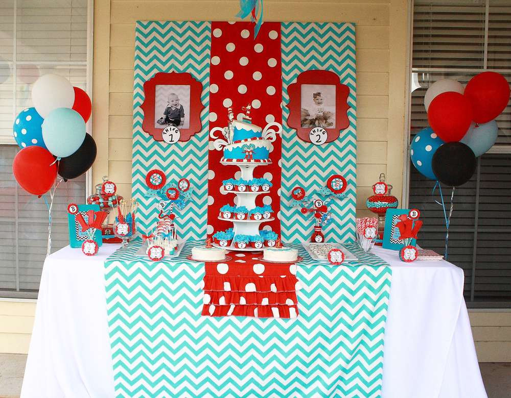 Best ideas about Dr.seuss Birthday Decorations . Save or Pin Dr Seuss Party Ideas – A to Zebra Celebrations Now.
