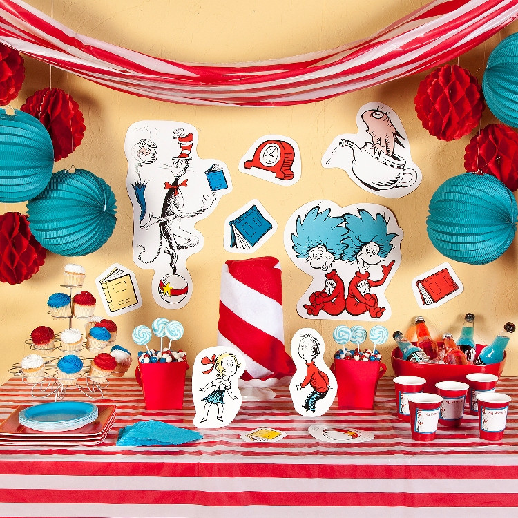 Best ideas about Dr.seuss Birthday Decorations . Save or Pin Dr Seuss Invitation Wording Now.