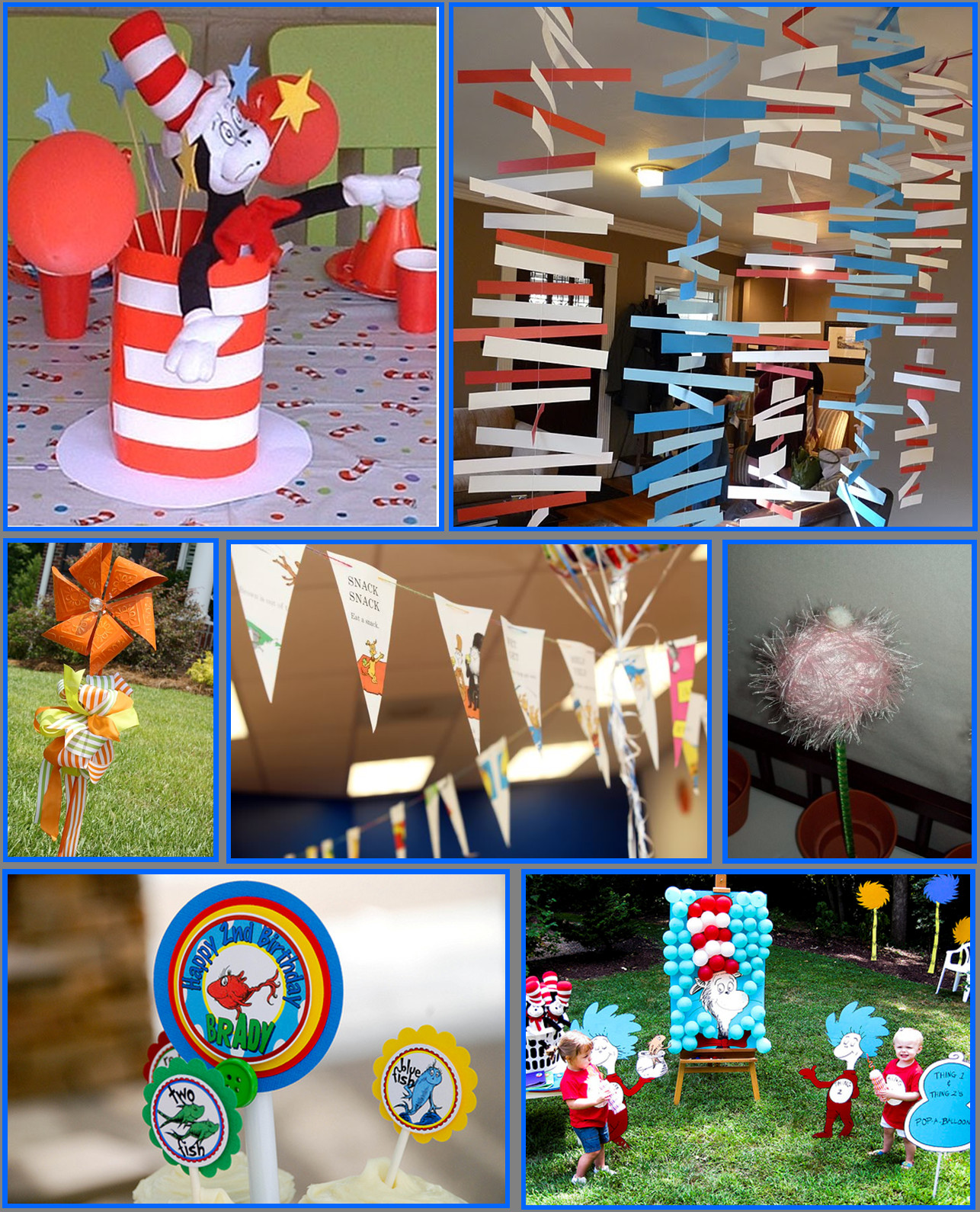 Best ideas about Dr.seuss Birthday Decorations . Save or Pin Dr Seuss Now.