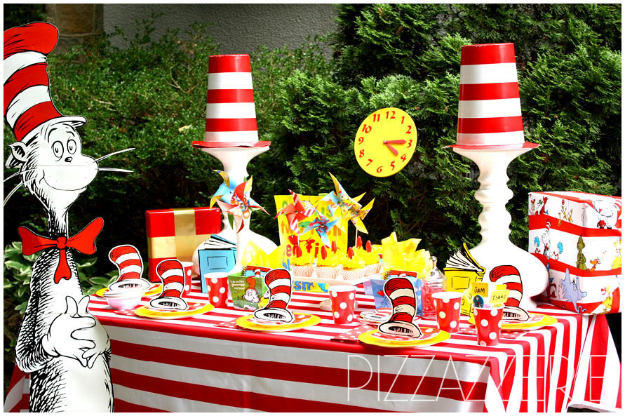 Best ideas about Dr.seuss Birthday Decorations . Save or Pin Dr Seuss Birthday Party on a Bud Now.