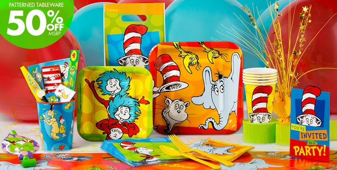 Best ideas about Dr.seuss Birthday Decorations . Save or Pin Dr Seuss Party Supplies Dr Seuss Birthday Party City Now.