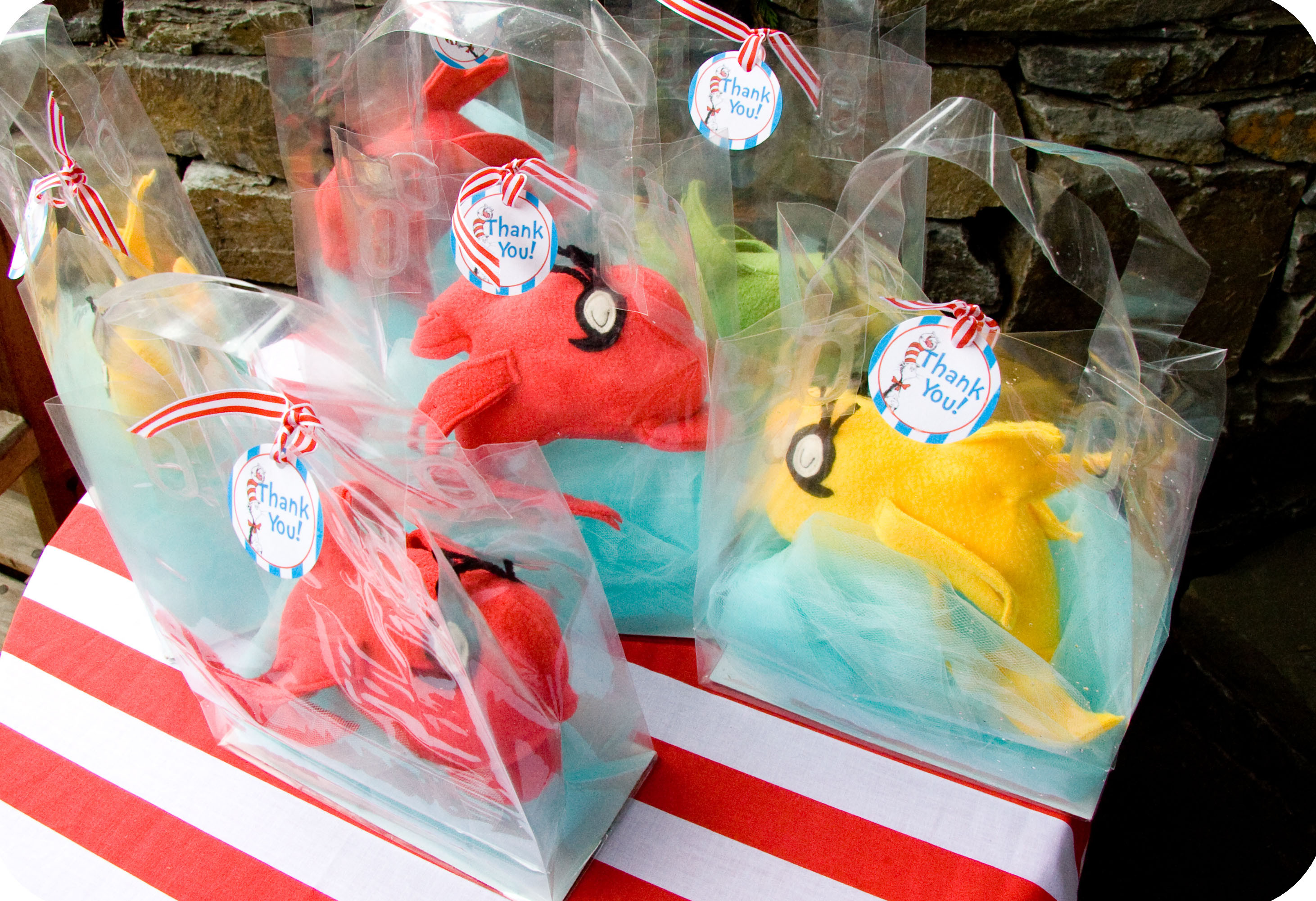 Best ideas about Dr.seuss Birthday Decorations . Save or Pin Dr Seuss Party Series Fish Party Favor Tutorial with a Now.