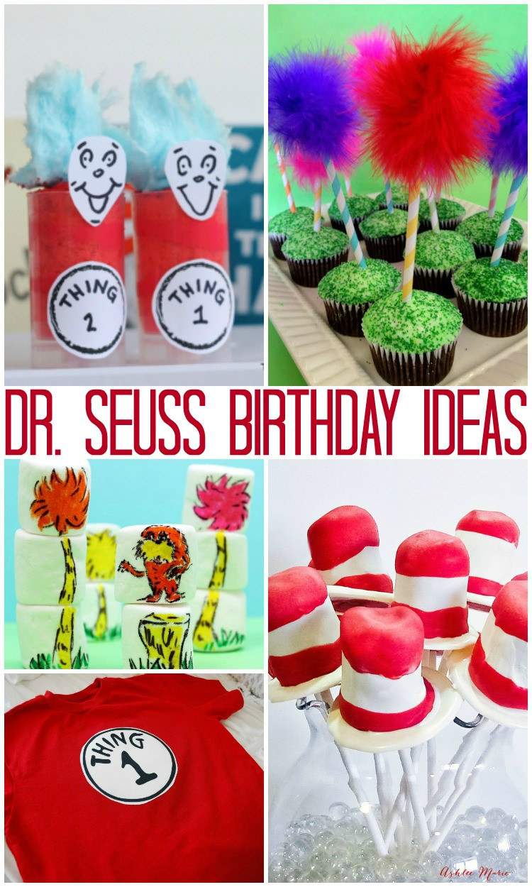 Best ideas about Dr.seuss Birthday Decorations . Save or Pin Over 40 Dr Seuss Birthday Ideas Crafts Parties Now.