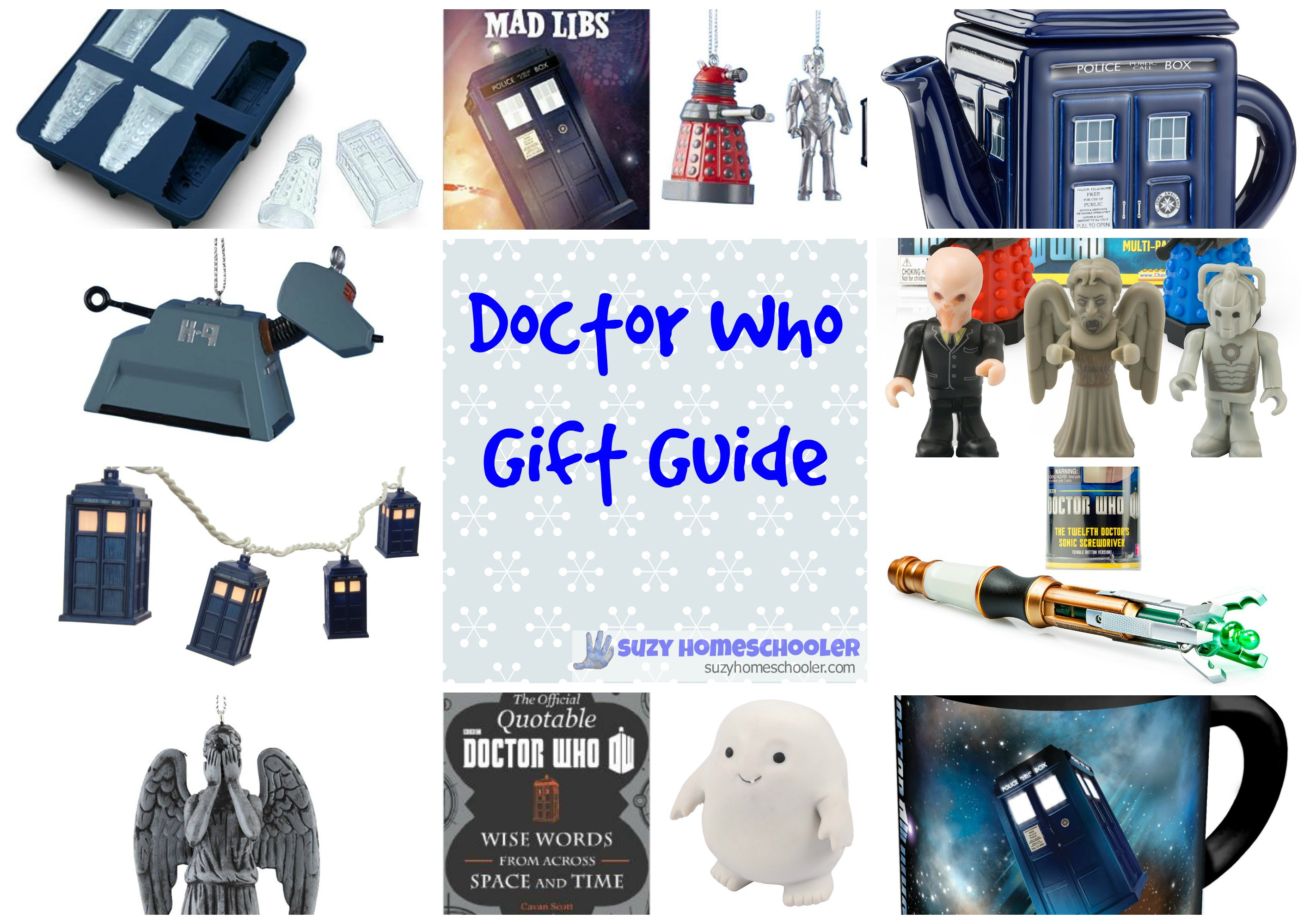 Best ideas about Dr.Who Gift Ideas . Save or Pin doctor who – Suzy Homeschooler Now.