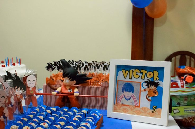 Best ideas about Dragon Ball Z Birthday Decorations . Save or Pin 1000 images about Dragon Ball Z Birthday on Pinterest Now.