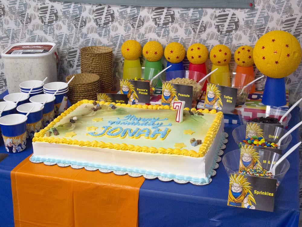 Best ideas about Dragon Ball Z Birthday Decorations . Save or Pin Dragon Ball Z Birthday Now.