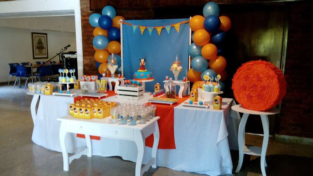 Best ideas about Dragon Ball Z Birthday Decorations . Save or Pin Dragon ball z Birthday Party Ideas 7 of 7 Now.