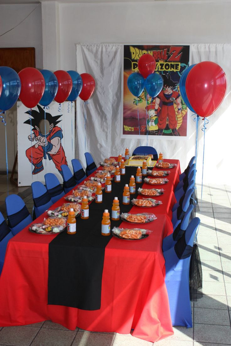 Best ideas about Dragon Ball Z Birthday Decorations . Save or Pin Dragonball Z party Kids Zone Pinterest Now.