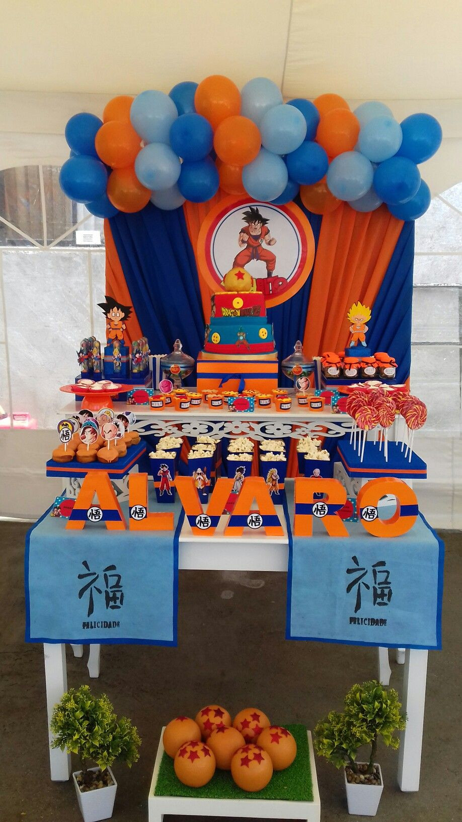 Best ideas about Dragon Ball Z Birthday Decorations . Save or Pin Festa Dragon Ball Z Now.