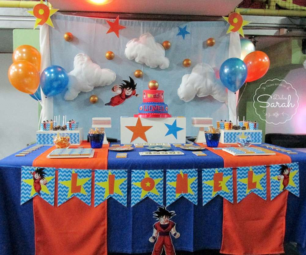 Best ideas about Dragon Ball Z Birthday Decorations . Save or Pin Dragon Ball Birthday Party Ideas 1 of 13 Now.
